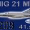MIG-21MF CEF retro 5209 (repaint) FSX / P3D