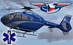 ND Eurocopter EC135 PČR OK-BYB (repaint) FSX/FSX-SE/P3D