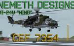 """ND Mil Mi-24V """"Hind"""" CEF 7354 (repaint) FSX"""