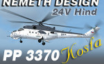 """ND Mil Mi-24V """"Hind"""" CEF 3370 Kosťa (repaint) FSX"""