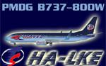 PMDG B738W Travel Service HA-LKE (repaint) FS2004
