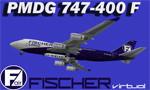 PMDG 747-400F Fischer Virtual Cargo OK-FJU (fiktivní repaint) FS2004