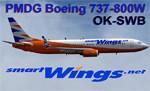PMDG 738W SmartWings OK-SWB (fiktivní repaint) FS2004