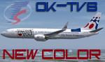 "PMDG 738W Travel Service OK-TVB ""Prague"" (repaint) FS2004"