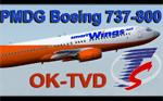 PMDG 737-800 SmartWings OK-TVD (fiktivní repaint) FS2004