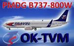 PMDG 738W Travel Service OK-TVM (repaint) FS2004