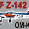 PWDT Zlín Z-142 OM-KNO (repaint) FSX