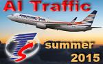 Travel Service & Smartwings Su2015 AI Traffic FS2004 / FSX
