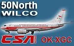 50North/Wilco CSA retro OK-XGC (repaint) FS2004