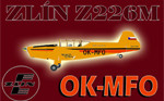 Zlín Z-226 MS OK-MFO (repaint) FS2004 / FSX