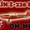Zlín Z-226 MS OM-MHE (repaint) FS2004 / FSX