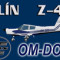 Zlín Z-43 OM-DOS (repaint) FS2004 / FSX