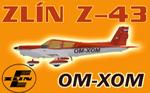Zlin Z-43 OM-XOM (repaint) FS2004 / FSX